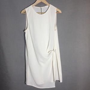 Lush cream loose long sleeveless top